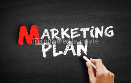 Business: Marketing Plan text on blackboard #00108