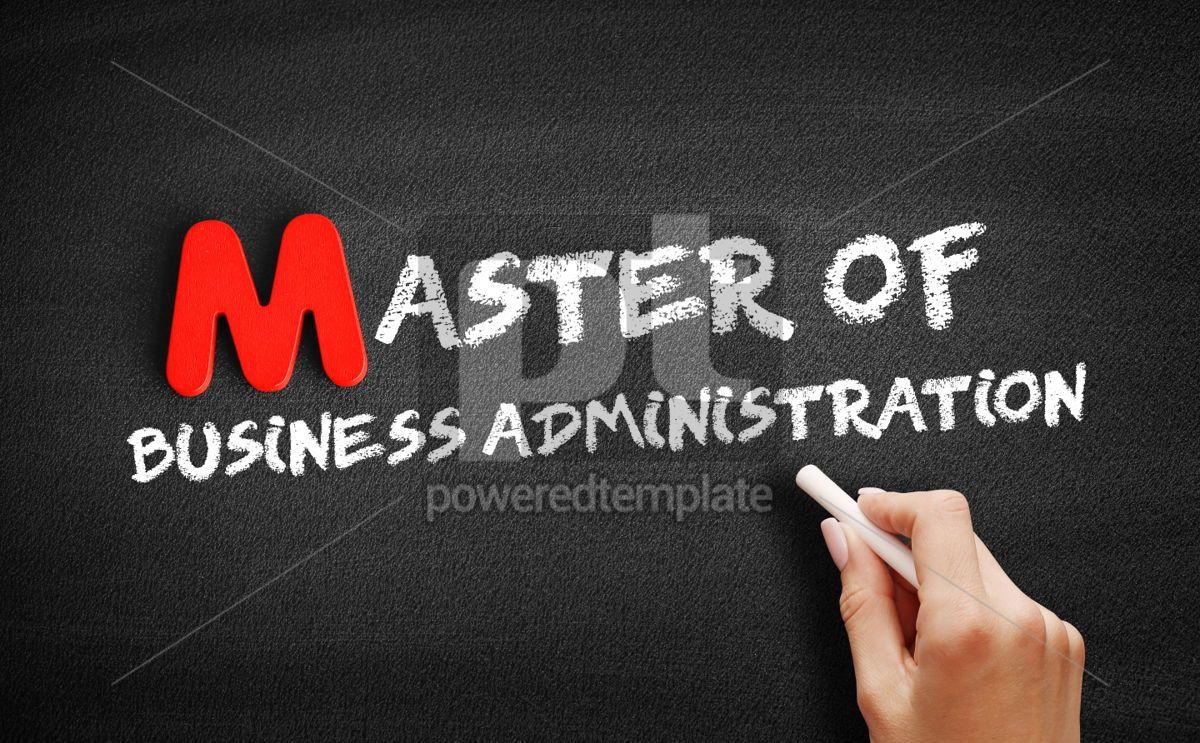 Master of Business Administration, 00110, Business — PoweredTemplate.com