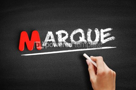 Business: Marque text on blackboard #00143