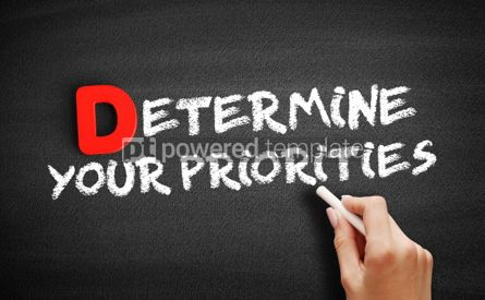 Business: Determine your Priorities text on blackboard #00167