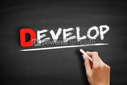 Business: Develop text on blackboard #00197