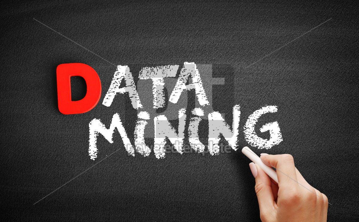 Data Mining text on blackboard, 00199, Business — PoweredTemplate.com