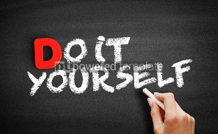 Business: Foto - faça você mesmo o texto no quadro-negro #00202