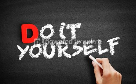 Business: Do It Yourself text on blackboard #00202