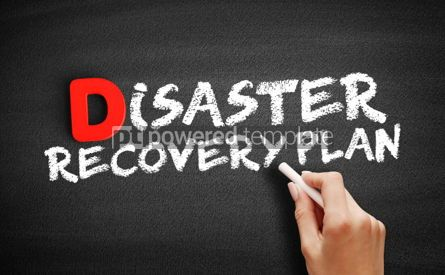Business: Disaster Recovery Plan text on blackboard #00203