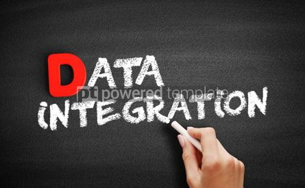 Business: Data Integration text on blackboard #00214