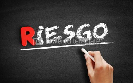 Business: Riesgo spanish words for Risk text #00262