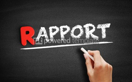 Business: Rapport text on blackboard #00268