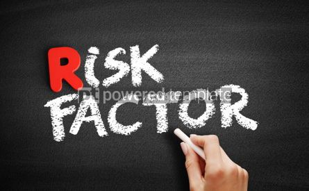 Business: Risk factor text on blackboard #00286