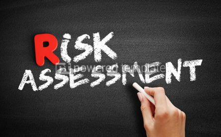 Business: Risk assessment text on blackboard #00288