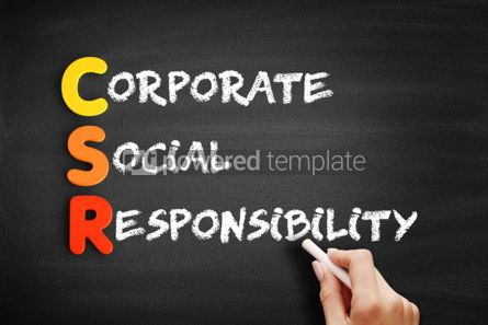 Business: CSR Corporate Social Responsibility text #00351
