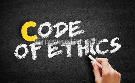 Business: Code of Ethics text on blackboard #00357