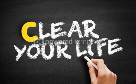Business: Clear Your Life text on blackboard #00362