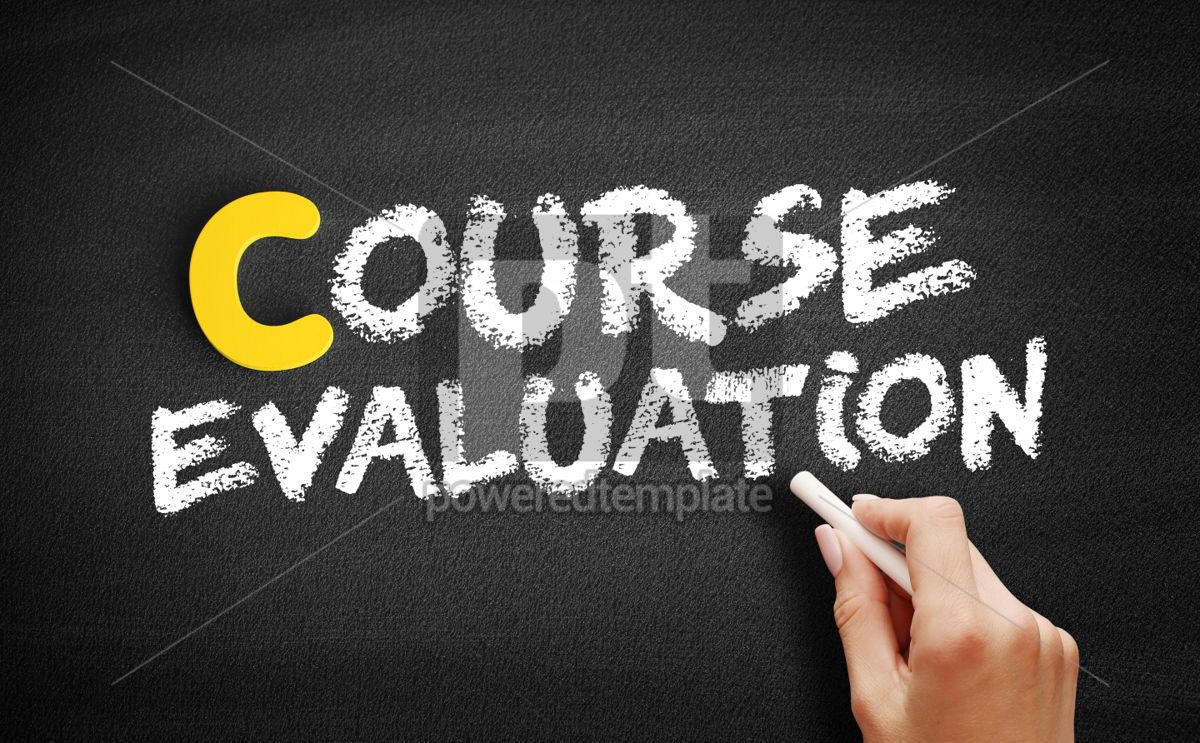 Course evaluation text on blackboard, 00396, Business — PoweredTemplate.com