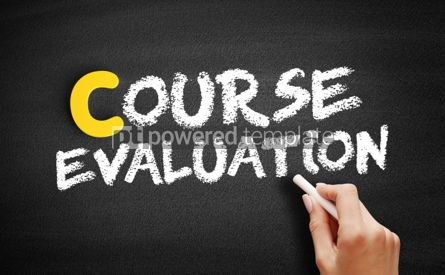 Business: Course evaluation text on blackboard #00396