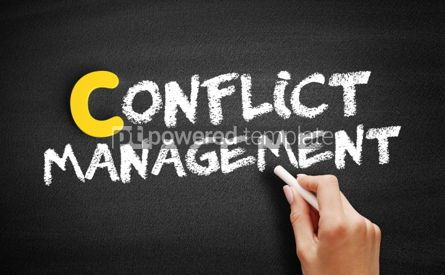 Business: Conflict management text on blackboard #00397