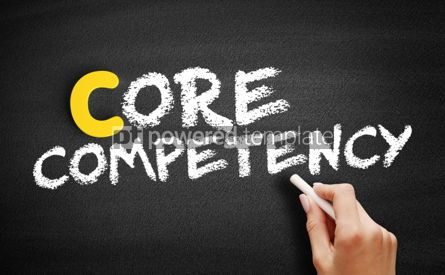 Business: Core competency text on blackboard #00416