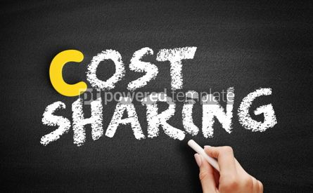 Business: Cost sharing text on blackboard #00422