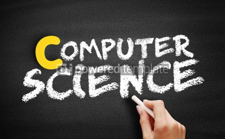 Business: Computer science text on blackboard #00454