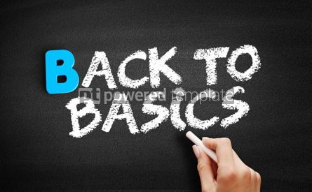 Business: Back to Basics text on blackboard #00498