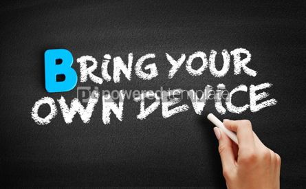 Business: Bring your own device text on blackboard #00509