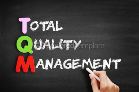 Business: Total Quality Management acronym #00531