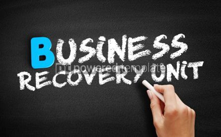 Business: Business Recovery Unit text on blackboard #00571