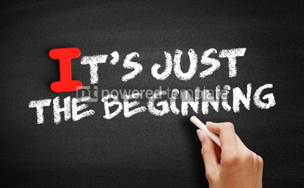 Business: It's Just The Beginning text on blackboard #00578