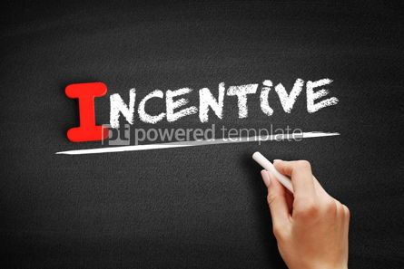 Business: Incentive text on blackboard #00585