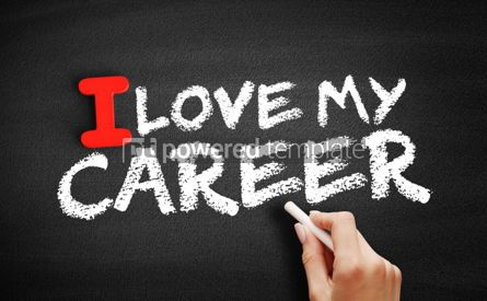 Business: I love my career text on blackboard #00603