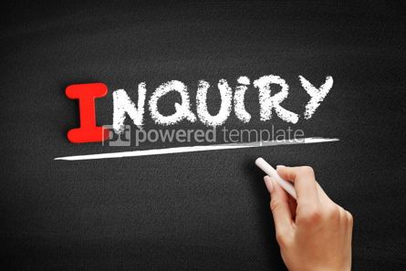 Business: Inquiry text on blackboard #00619