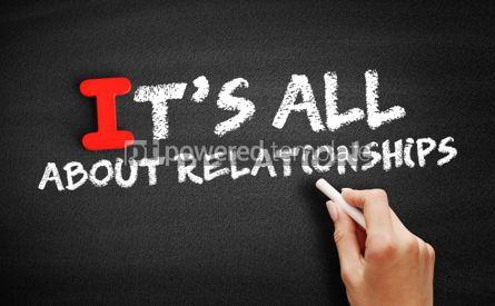 Business: Foto - tudo sobre relacionamentos texto no quadro-negro #00628