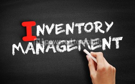 Business: Inventory Management text on blackboard #00630
