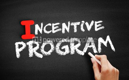 Business: Incentive program text on blackboard #00656