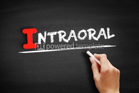 Business: Intraoral text on blackboard #00657