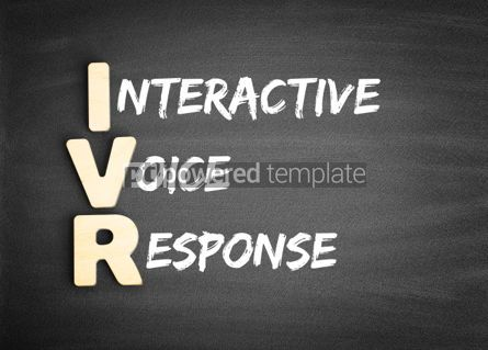 Business: IVR Interactive Voice Response acronym #00681