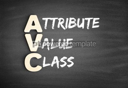 Business: AVC Attribute Value Class acronym #00687