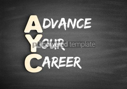 Business: AYC Advance Your Career acronym #00689