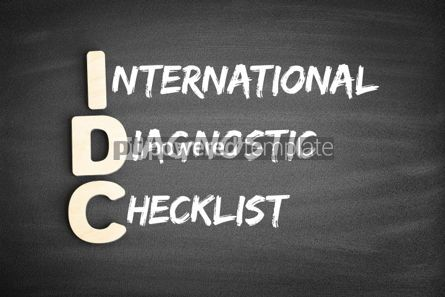Business: Idc Internationale Diagnostische Checklist Acroniem Foto #00690