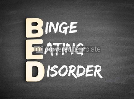 Business: BED Binge Eating Disorder acronym #00692