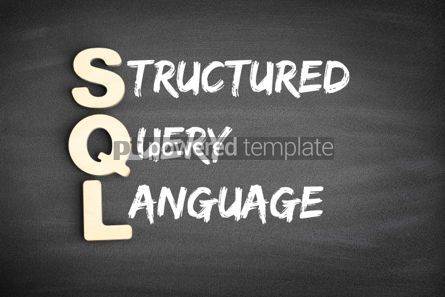 Business: SQL acronym on blackboard #00695