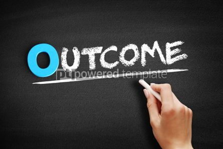 Business: Outcome text on blackboard #00705