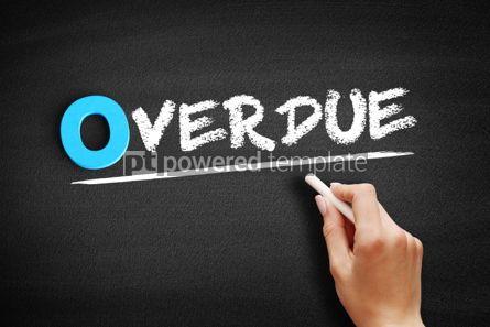 Business: Overdue text on blackboard #00706