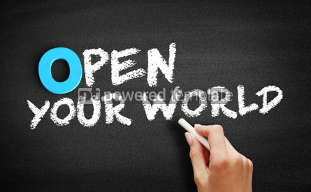 Business: Open Your World text on blackboard #00712
