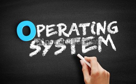 Business: Operating System text on blackboard #00718