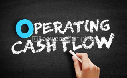 Business: Operating Cash Flow text on blackboard #00734