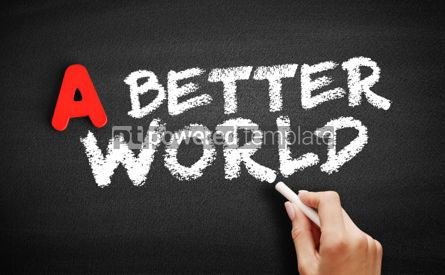 Business: A Better World text on blackboard #00738