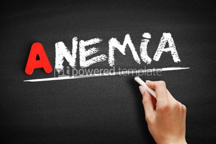 Business: Anemia text on blackboard #00740