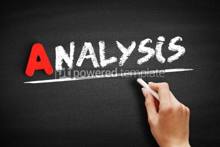 Business: Analysis text on blackboard #00743