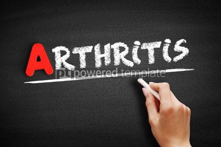 Business: Arthritis text on blackboard #00745